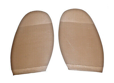 Extra Grip Soles in Sand Brown for DIY Shoe Repair Supplies