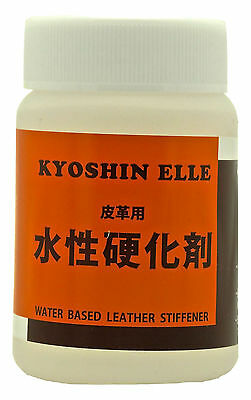 Kyoshin Elle Water Based Leather Stiffener, Leathercraft Hardener 100ml