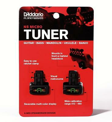 Planet Waves Planet Waves PW-CT-12TP   NS Mini Headstock Tuner, 2 pack