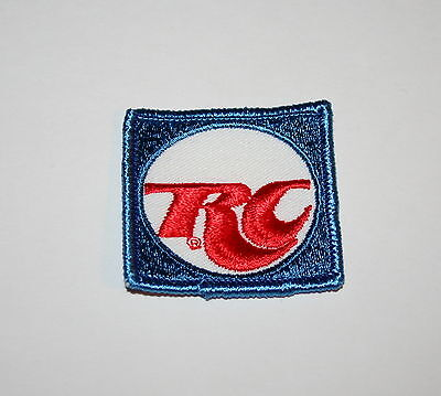 Vintage RC Cola Soda Advertising Small Cloth Patch 1980s