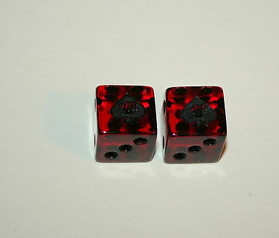 Rare Pair Miller Beer Advertising Promo Dice Craps Drinking Gambiling Game New