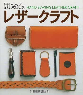 Japanese Leathercraft Book Hand Sewing Leather Craft 2