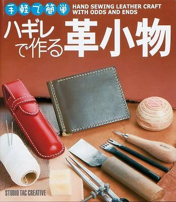 Hand Sewing Leather Craft with Odds and Ends Leathercraft Book