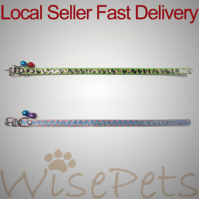 Stylish Plastic Pet Collar with Bells For Small Dog Puppy Cat Kitten