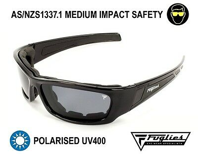 Fuglies PP09 Slabs - ASNZS1337 Foam-Backed Polarised Safety Sunglasses
