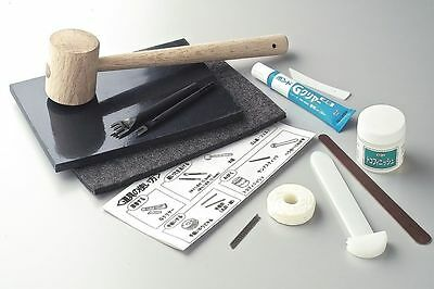 Craft Sha Leathercraft Leather Hand Sewing Set Simple, Tools & Supplies Kit