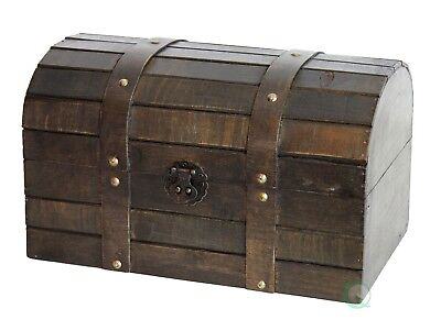 New Vintiquewise Old Style Barn Wood Trunk, QI003031