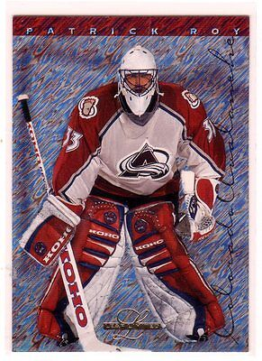 1X PATRICK ROY 1995 96 Leaf Limited #66 NMMT Avalanche Canadiens