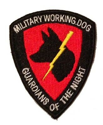 Guardians of the Night Velcro K9 MWD Patch - Check out our store at ALLK9Stuff
