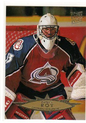 1X PATRICK ROY 1995 96 Fleer Ultra Extra #225 NMMT Avalanche Canadiens