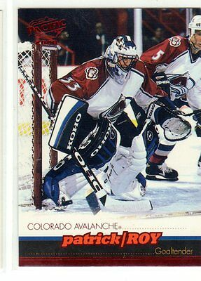 1X PATRICK ROY 1999 00 Pacific #114 Red NMMT Avalanche Canadiens