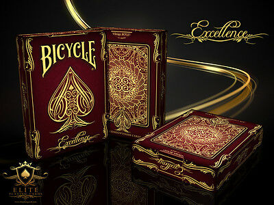 Limited Edition Bicycle Excellence Playing Cards Brand New Deck