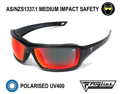 Fuglies PP16 Safety Sunglasses - ASNZS1337 Polarised Tinted Safety Glasses