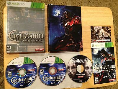 Castlevania Lords of Shadow Limited Edition Xbox 360 System nearly Complete Game