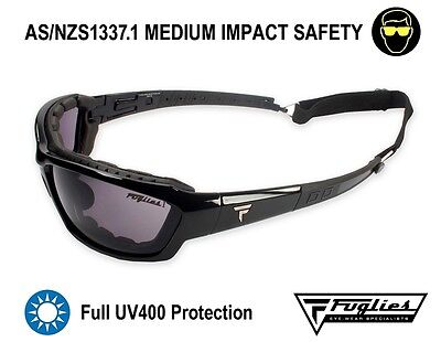Fuglies PC17 Safety Sunglasses - AS/NZS1337.1 UV400 Safety Glasses