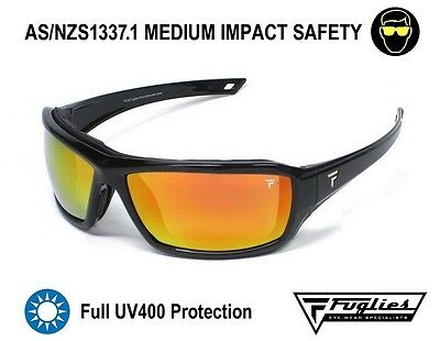 Fuglies PC22 Safety Sunglasses - AS/NZS1337.1 UV400 Safety Glasses