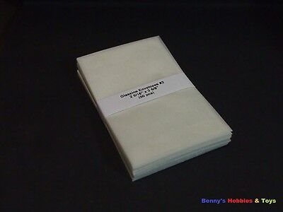 "50 New Glassine Envelopes #2 - 2 5/16""' x 3 5/8"" - Stamp Philately Supplies"