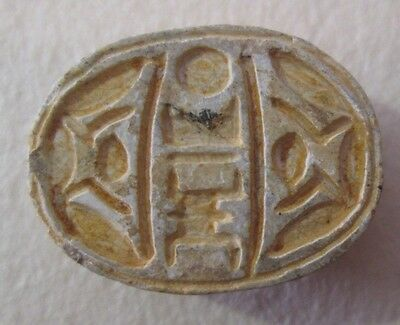 Local (Palestine) Steatite Scarab Archaeology • CAD $315.00