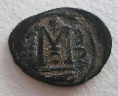 Arab Byzantine Bronze Coin Archaeology
