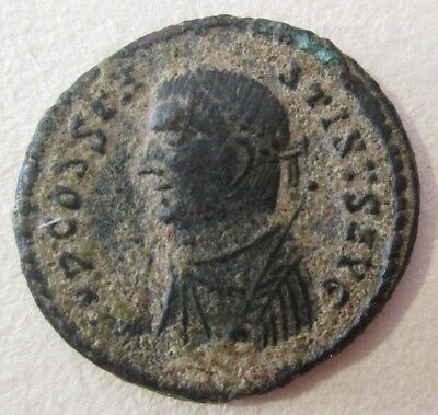 Roman Ancient Bronze Coin Archaeology