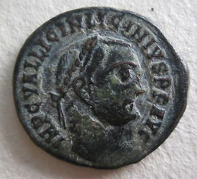 Roman Bronze Coin Licinius Constantinus Family Archaeology
