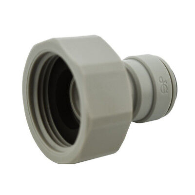 """Genuine John Guest 3/4"""" BSP x 3/8"""" Push Fit Connector, CI320816S Water Fitting"""