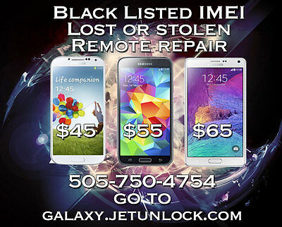 REMOTE FIX TODAY Bad Blacklisted IMEI Repair Service Samsung Galaxy Note 4