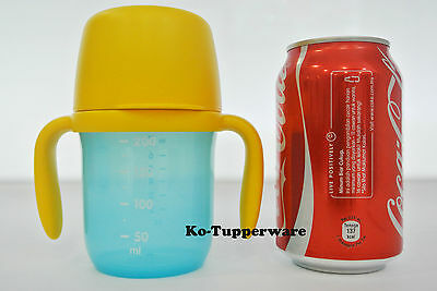 New x1 Tupperware grow with me twinkle Baby Training cup 250ml 6-18 months