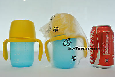 New x2 Tupperware grow with me twinkle Baby Training cup 250ml 6-18 months