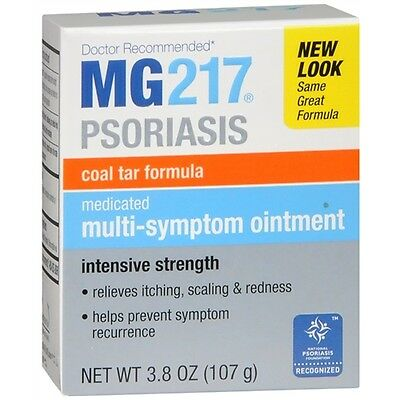 MG-217 Medicated Multi-Symptom Ointment, Intensive Strength 3.8 oz (107 g)
