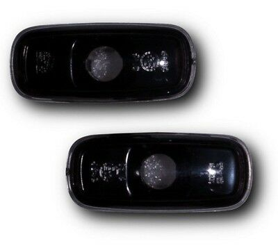 Audi A3 & S3 8L Facelift (00-02) Side Indicator Repeaters - Crystal Black