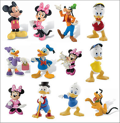 Bullyland Disney Mickey Mouse Clubhouse Figure Figurines Toy Cake Topper Toppers