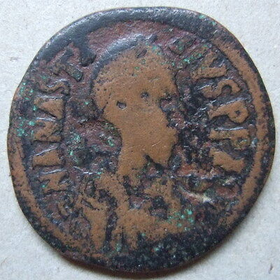 Byzance large follis cuivre Anastase Constantinople / Anastasius byzantine coin