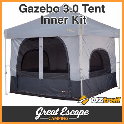OZTRAIL DELUXE GAZEBO TENT INNER KIT 3x3m Gazebo not Included