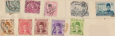 (T14-2) 1872-1950 Egypt mix of 25stamps (B)