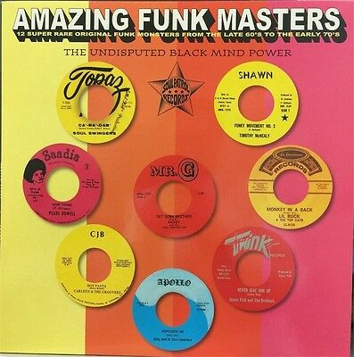 Amazing Funk Masters By Various Artists Vinyl LP Record Import NEW