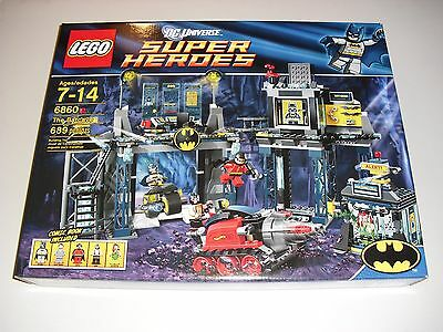 LEGO 6860 DC Super Heroes The Batcave - New & Rare - FREE SHIPPING