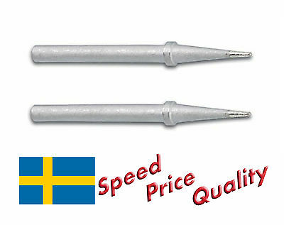 2 x Spare Tips 4.8/0.5 mm For Soldering Station ZD-98 VTSS4/5 etc- Fast Delivery