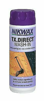 Nikwax TX Direct Wash In 300ml Waterproofing for Wet Weather Outdoor Clothing