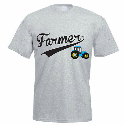 FARMER - Tractor / Agriculture / Farming / Gift / Funny Themed Men's T-Shirt
