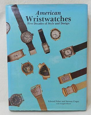 *** American Wristwatches - Five Decades Of Style And Design : 600 Photos - 1988