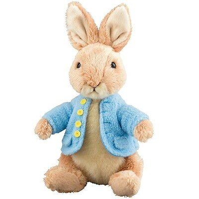 "NEW OFFICIAL GUND Beatrix Potter Peter Rabbit 5"" Plush Soft Toy A26427"
