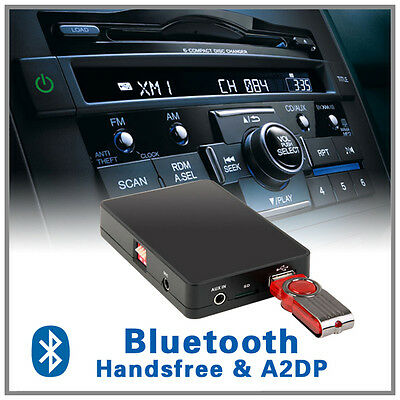 Bluetooth Music handsfree USB AUX adapter for Honda Accord Euro Jazz S2000