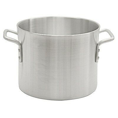 "Thunder Group 80 Qt Aluminum Stock Pot ALSKSP010 Stock Pot 23.2"" x 18.9"" x 17"""