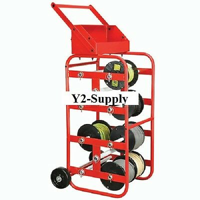 NEW! Industrial Portable Wire Reel Caddy!!