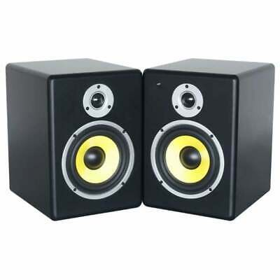 PDSM6 Power Dynamics Active 6-Inch Studio Monitor Pair for Demanding Pro Use