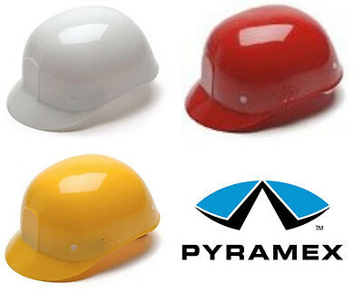 NEW Pyramex Suspension Bump Cap Hard Hat FREE SHIPPING - Red, Yellow, White