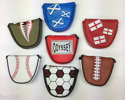 Odyssey Golf Sports Design Mallet Putter Headcover