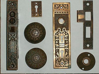 Antique Russell & Erwin Mortise Entry Lock Lock Complete except Key