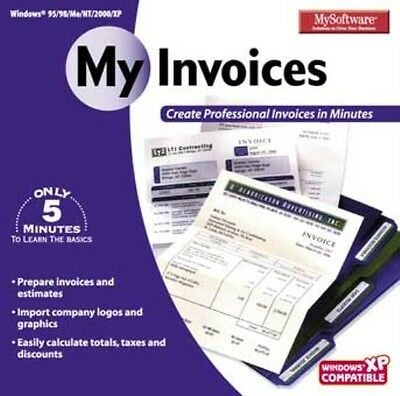 My Invoices - Invoice Software - NEW-CD-ROM!!SALE!!